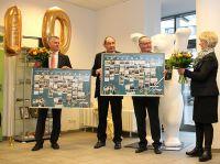 Hochschulleitung der bbw Hochschule Berlin und Geschäftsführung der Trägergesellschaft bbw Akademie beim Festakt.