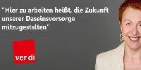 Clivia Conrad, Bundesfachgruppenleiterin Wasserwirtschaft bei ver.di