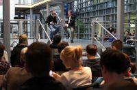 Kai Diekmann und Prof. Dr. Martin Jastorff im Gespräch
