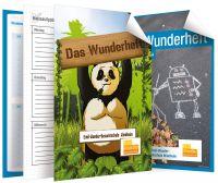 Mit dem inHeft können sich Schulen ein individuelles Hausaufgabenheft aus über 60 Seitenvorlagen und vier Designs zusammenstellen.