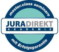 master.class seminare der JURA DIREKT Akademie GmbH - mit Geld-zurück-Garantie