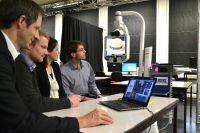 Wie funktioniert moderne Telemedizin? Mit dem VistOR1 können Studierende an der Fakultät Informatik dieses nun selbst erleben.