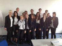 Marketingteam in Istanbul: Studierende der Studienrichtung Markenkommunikation und Werbung (6. Sem.)