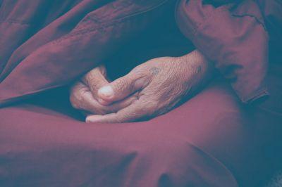 Konzentration wie ein Mönch
