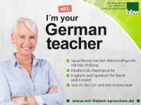 Frau Otto unterrichtet bei uns Deutsch als Zweitsprache.