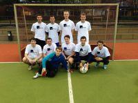 Das neuformierte Fußball-Team der MHMK