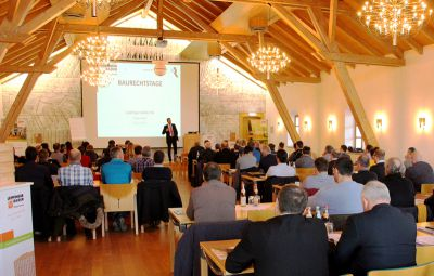 """Bei den """"LB-Planertagen"""" stehen die Themen Wohngesundheit, Brandschutz und Digitalisierung im Fokus (Foto: Leipfinger-Bader)."""