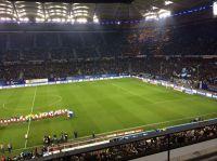 Am 26. März trafen der HSV und der SC Freiburg aufeinander. Sportjournalistikstudierende der Hamburger MHMK berichteten vom Spiel