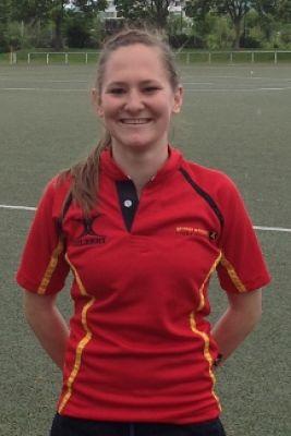 Rugbynationalspierin Dana Kleine-Grefe zu gast am Campus der MHMK Köln