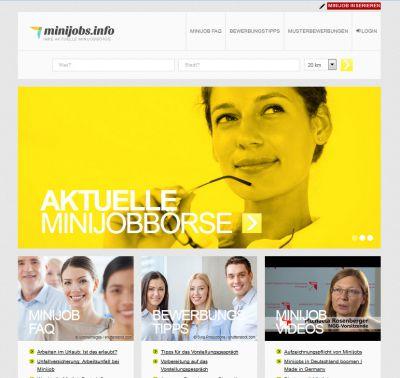 Minijobs.info - Minijobber Umfrage 2016