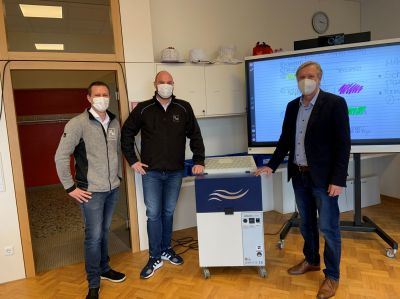 In der Schönstätter Marienschule kann dank des Einsatzes der TEKA-Luftreiniger aufgeatmet werden. Über die virenfreie Raumluft fre