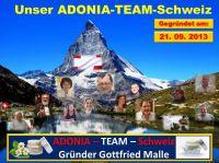 das ist das ADONIA-TEAM-Schweiz