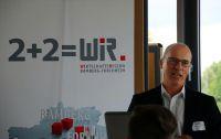 Personalberater Hans Ulrich Gruber hielt die Keynote bei der gut besuchten Veranstaltung im Lagarde1 in Bamberg.