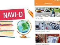 Navi-D unterstützt bei der Bewältigung zentraler Alltagssituationen, z.B. Nutzung des Nahverkehrs