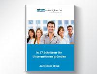 """Das kostenlose EBook """"In 27 Schritten Ihr Unternehmen gründen"""""""