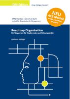 "Cover des neuen Buches ""Roadmap Organisation"""
