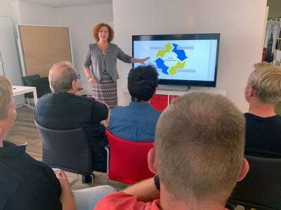 Volle Kraft voraus: Unter diesem Motto bietet Anke Hofmeyer eine Seminar-Woche für die Unternehmer-Frau im Handwerk.