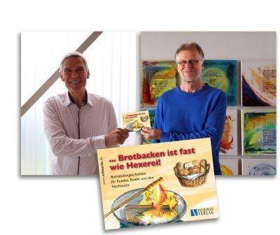 Druckfrisch, das neue Kinderbüchlein zur Nachwuchsförderung im Handwerk: Bäcker