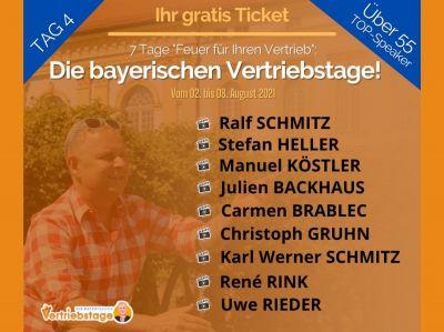 Die bayerischen Vertriebstage Tag 4
