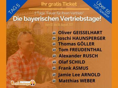Die bayerischen Vertriebstage Tag 5