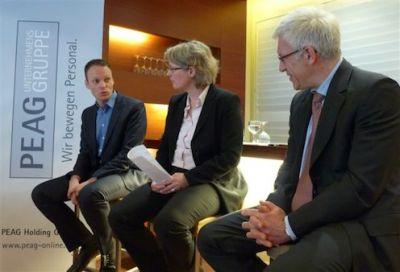 (v.l.) Kai Gehring, Birgit Marschall, Thomas Baumeister