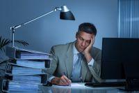 Arbeit fordert uns und wirkt müdend