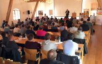 """Erfolgreiche """"Praxistage"""": 950 Teilnehmer brachten sich auf den neuesten Stand in Sachen Ziegelbauweise (Foto: Leipfinger-Bader)."""