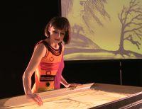 Sabrinas Sandmalerei Showact begeisterte bei Firmenevent