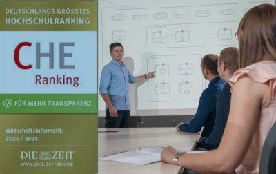 Gute Lehre. Die Fakultät Informatik in Reutlingen überzeugt erneut mit guten Rankingsergebnisse