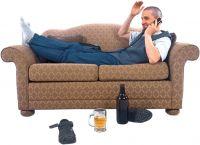 Auf dem Sofa liegen bleiben - oder die Karriere selbst in die hand nehmen - mit karrierebereit.de
