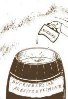 Ein Tropfen Teer kann ein Fass mit Honig verderben (altes russisches Sprichwort).