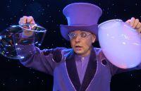 Als Unterhaltung für Firmen Jubiläum begeisterte Showkünstler Blub mit seine Seifenblasenshow
