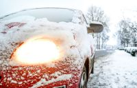 Auto Theorie zum Fahren im Winter