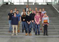 Die Berliner Gruppe im Bundestag mit Prof.Dr Heinz Riesenhuber