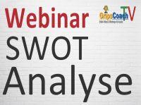 Kostenloses Webinar: Die SWOT-Analyse einfach erklärt von GripsCoachTV