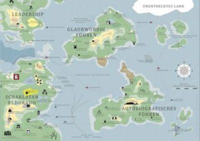 Landkarte Scharlatan Expedition II