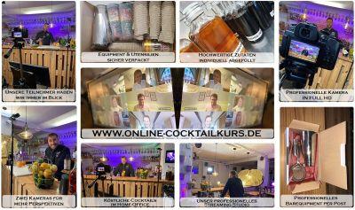 online Cocktailkurs als virtuelles Teamevent für glückliche, motivierte Mitarbeiter!