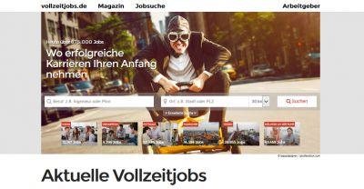 Aktuelle Jobs und Stellenanzeigen finden auf www.vollzeitjobs.de