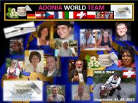 Gottfried Malle mit dem ADONIA WORLD TEAM