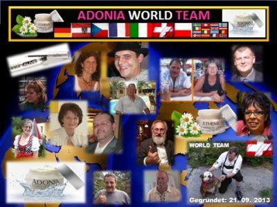 Gottfried Malle mit dem ADONIA WORLD TEAM