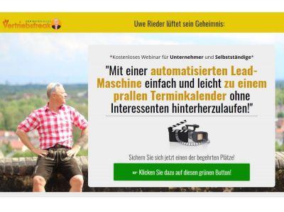 Uwe Rieder automatisierte Leadmaschine