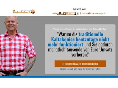 Uwe Rieder Kaltakquise funktioniert nicht mehr