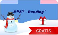 Easy Reading Card - Leseschablone