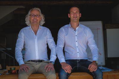 Bernhard Patter und Steffen Schock, Inhaber von diavendo (v.l.n.r.).