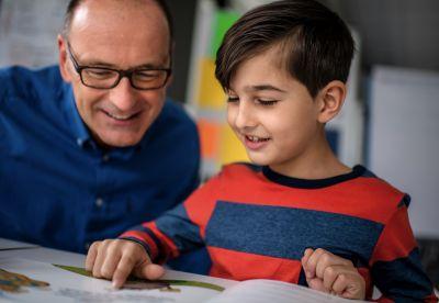 Gemeinsames Lesen stärkt Kinder für ihr gesamtes Leben, Foto: Andreas Endermann