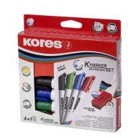 Whiteboard-Marker von KORES: Leistungsstark und umweltfreundlich.