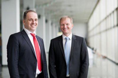 Die Vorstände der agileo AG: Herr Gregor Knapp (links) und Herr Oliver Landgraf (rechts)