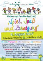 15. Kinder- und Familienfest Bürgerstiftung Wallenhorst