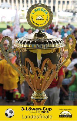 Bei der 3-Löwen-Cup mini EM spielen die Mannschaften aus dem Ländle um den begehrten Pokal