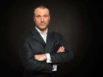 Jan Brendel, Mitgründer von Aktion Neuanfang